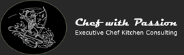 Chef with passion